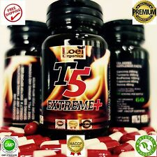 T5 FAT BURNERS CAPSULES -STRONGEST LEGAL SLIMMING - BEST DIET WEIGHT LOSS PILLS