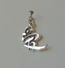CHINESE LOVE SYMBOL PHRASE CHARM 925 STERLING SILVER