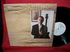 ROBERT FRIPP and the League of Crafty Guitarists LIVE LP 1986 Mint-