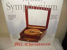 Mr.Christmas Holiday symphonium music box +16 Discs carols + classics