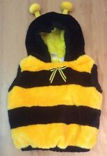 Bumble Bee Costume Toddler Infant Soft Halloween Yellow Blk 12-24 Mo No Reserve