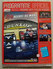 LE MANS 24 HOUR ENDURANCE RACE Official Programme 2008
