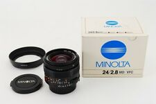*RARE MINT* Minolta MD 24mm F2.8 VFC Curvature Control Lens from Japan #983
