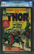 Journey into Mystery (thor) # 105 us Marvel 1964 Jack Kirby CGC 5.5 FN -