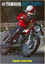 YAMAHA Brochure RD350 1973 Saarinen Sales Catalog Catalogue REPRO