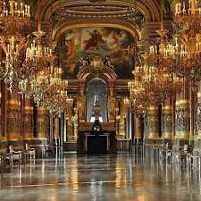 Ornate palace 10'x10' CP Backdrop Computer printed Scenic Background zjz-539