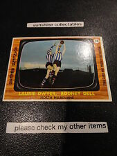 1967 VFL SCANLENS CARD NO.38 TWO PLAYERS NORTH MELBOURNE VERY GOOD (1)