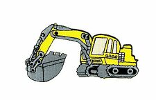 Patch backpack excavator trackhoe kids clothes bulldozer tractor loader ion