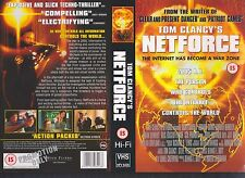 Tom Clancy's Net Force Video Promo Sample Sleeve/Cover #10105