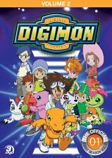 DIGIMON SEASON 1 VOLUME 2 New Sealed 3 DVD Set