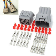 1sets Car Part 12 Pin Way Sealed Waterproof Electrical Wire Auto Connector Plug