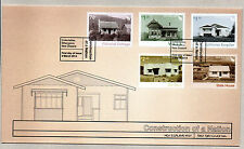 NEW ZEALAND FDC 2014 - CONSTRUCTION OF A NATION