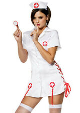 Nurse Fancy Dress Costume, Cosplay - One Size (S, M, L)