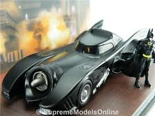 1989 Batman Batmobile Movie negra de automóvil 1/43rd Escala escena ejemplo PKD t3412z (=)