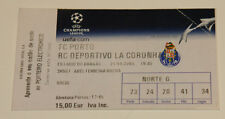 Ticket for collector CL FC Porto Deportivo La Coruna 2004 Portugal Spain