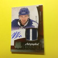 Nazem Kadri 2010-11 The Cup Jersey Auto Rookie Toronto Maple Leafs 10-11 RC /249