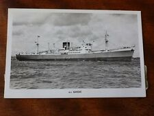 Lot11a Merchant Vessel BARDIC Prince Liners
