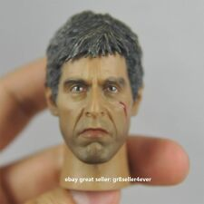 """Hot 1/6 scale Toy Head Sculpt Scarface Al Pacino as Tony Montana Fit 12"""" toys#US"""