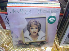 Anne Murray Christmas Wishes vinyl LP 1981 Capitol VG+ IN Shrink