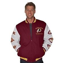 NFL Washington Redskins  Hall of Fame Super Bowl Commemorative Jacket Med.