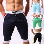 Men's Cotton Shorts Pants Gym Trousers Sport Jogging Trousers Casual