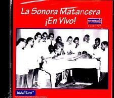 La Sonora Matancera - !En Vivo! - CD ( Leer descripción antes de comprar )