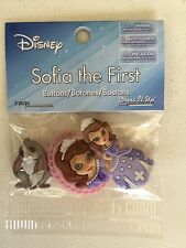 Disney Sofia The First Buttons Embellishments/Dress It  Up