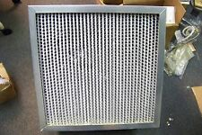 "NOS ASHRAE Cell Box Air Filter 24""X 24"" X 12"" Wet Laid Micro-Fiber Paper"