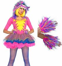 SEXY PARTY MONSTER & GLOVES HALLOWEEN COSTUME  ADULT X SMALL