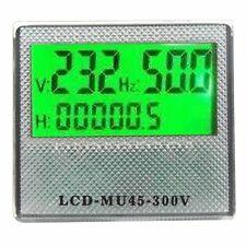 VOLTMETRO FREQUENZA MISURATORE DI CONSUMO ELETTRICO LED DIGITALE AC 80-300V