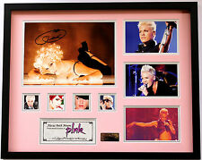 New Pink Signed Limited Edition Memorabilia