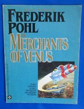 1986 THE MERCHANTS OF VENUS by Frederik Pohl VGN DC Graphic Novel Sci Fi