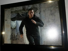 HAND SIGNED BY MATT DAMON WITH COA ORIGINAL AUTOGRAPHED JASON BOURNE SERIES
