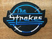 new THE STROKES Embroidered Patch Iron On Applique Indie rock Band Music DIY