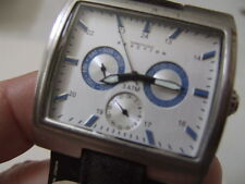 """WRISTWATCH KENNETH COLE """"REACTION""""   STAINLESS WATER RESISTANT  JAPAN MOVEMENT"""