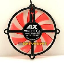 Original AX Gtx650 graphics card fan R128015DM DC12V 0.25A 2months warranty