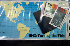 "1943  ""TURNING  THE  TIDE ""  WORLD  WAR  II  MINT  SET, NEW Unopened and Unused"