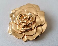 Yves Saint Laurent Brooch Pin YSL Broche camelia