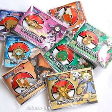 Complete Set!! Pokemon XY Kalos League Gym Badges Pokemon Center Limited Japan