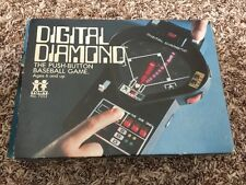 vtg Digital Diamond Baseball Hand Held Video Game Tomy 1978 Parts atari sega toy