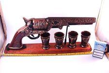 DECANTER for vodka whiskey brandy alcohol Bottle like GUN COLT, Military style