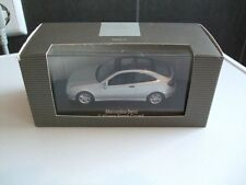 Minichamps Modell in 1:43  Mercedes Benz C-Klasse Sport Coupe in silber metallic