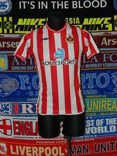5/5 Sunderland adults XS 2008 mint football shirt jersey trikot soccer