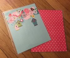 Birdhouses Front & Back Cover Set made for use with Erin Condren Life Planner