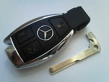 GENUINE MERCEDES BENZ CLASS E S C SLK CLK COUP VITO ETC 3BT REMOTE UNCUT KEY FOB
