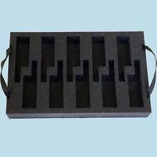Schaumstoffeinsatz f. 10 Kenwood Funkgeräte TK3201 | TK3301 | TK3401 | Protalk