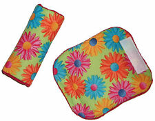 Baby Hippy Daisy Car Seat Pram Trolley Highchair Harness Cover Belt Pads BN