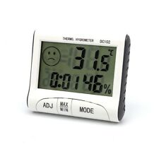 NEW Digital LCD Humidity Hygrometer Temperature Thermometer Indoor Outdoor in UK