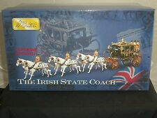 BRITAINS 00254 IRISH STATE COACH CEREMONIAL METAL TOY SOLDIER FIGURE SET