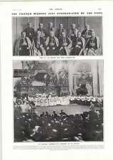 1906 French Bishops Consecrated By The Pope St Peters